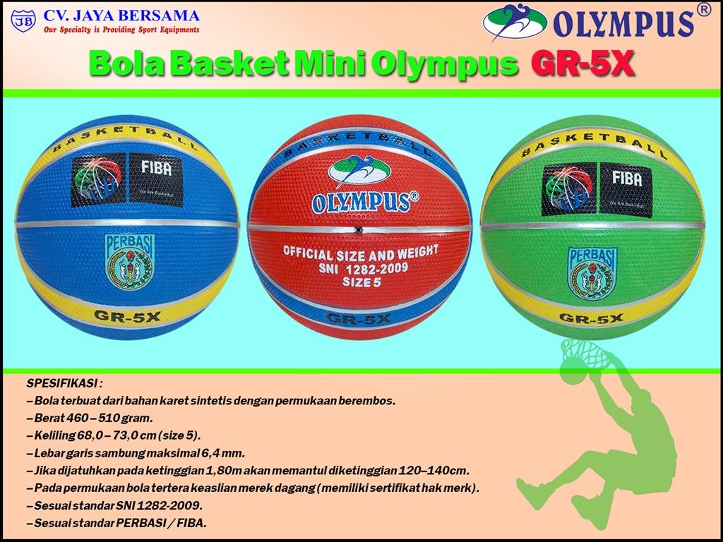 Bola Basket Mini Untuk Anak SD - CV JAYA BERSAMA