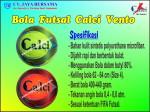 Bola Futsal Calci Vento