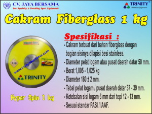Cakram Fiberglass 1 kg