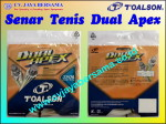 Senar Tenis Dual Apex